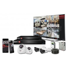 Provision-ISR 4 Channel 2MP AHD CCTV Kit