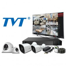 TVT 1080P 4 Channel 2MP AHD CCTV KIT